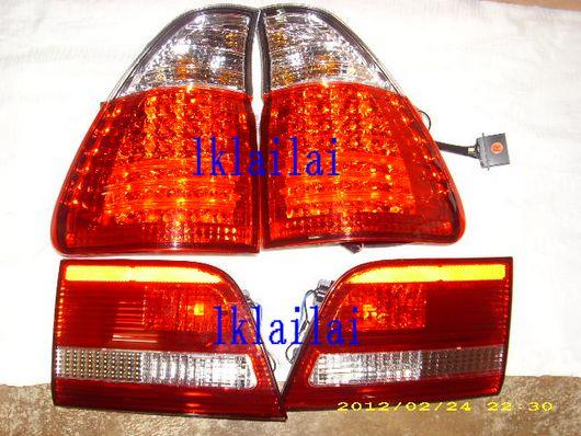 BMW X5 E53 `02-05 Tail Lamp Crystal LED Clear/Red [BM21-RL01-U]