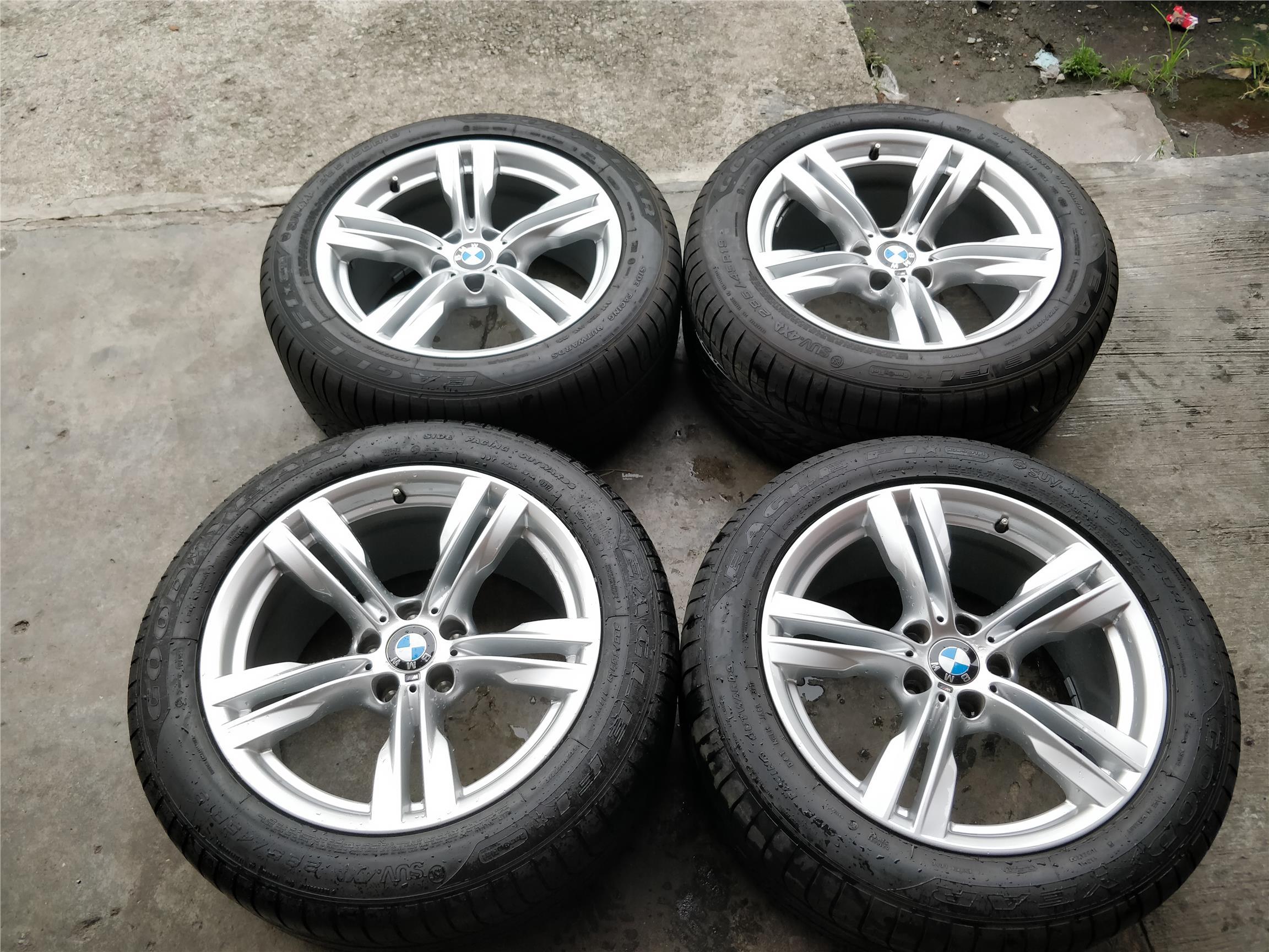 Bmw X5 Original 19 Inch Rim 99 Run Flat Tyre