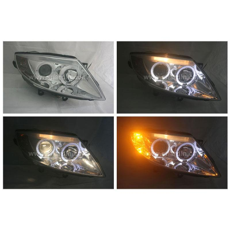BMW Z4 03-08 Projector Headlamp w Ring