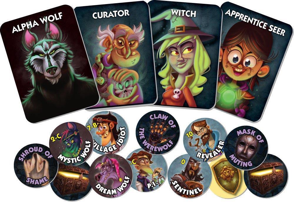 Board Game : One Night Ultimate Werewolf: Daybreak