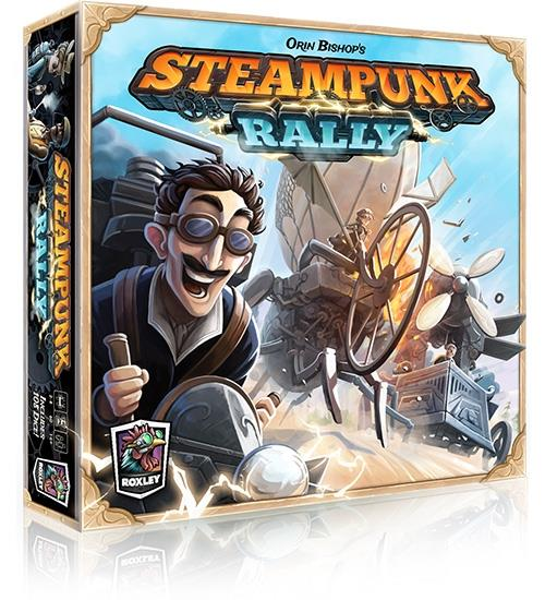 Board Game : Steampunk Rally