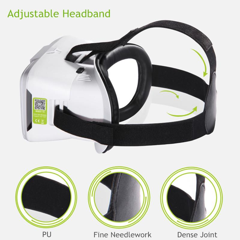 New BOBO VR 3D Virtual Reality Headset Glasses For 4'-6' Phone