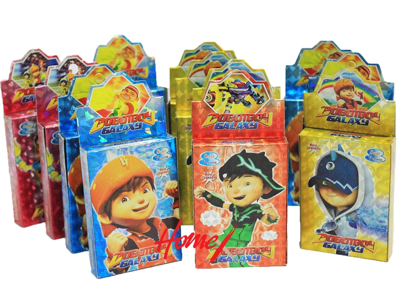 Boboiboy Galaxy Cards 12pcs End 1162021 1200 Am