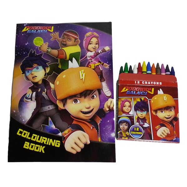 Boboiboy Galaxy Coloring Book With C End 642020 1115 Pm