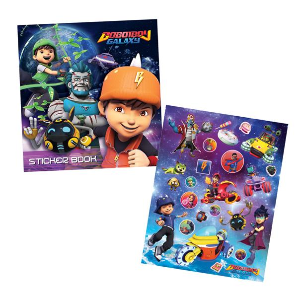 Boboiboy Galaxy Sticker Book With St End 3142020 915 Pm