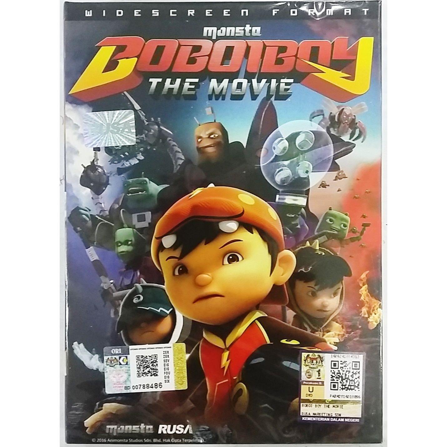 Boboiboy The Movie Dvd End 492021 1200 Am
