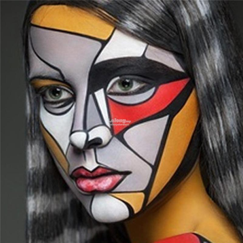 Body Face Color Oil Painting,Flash Art Tattoo,Event Carnival Halloween