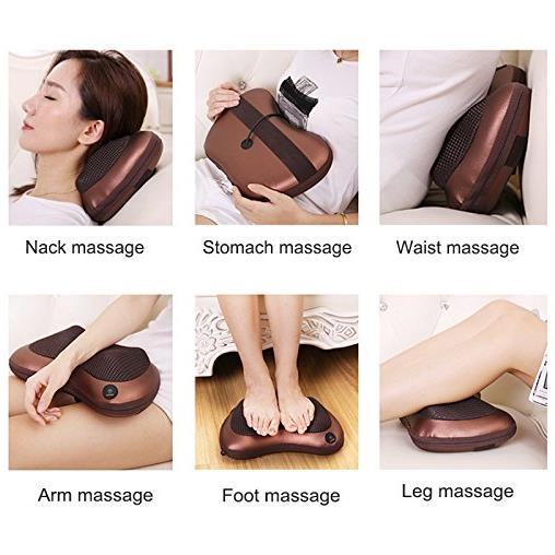 Body Massage Pillow Massage Nodes Neck and Back Massage Pillow