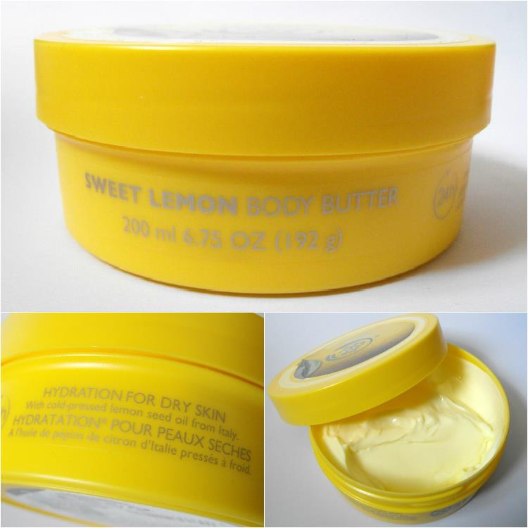 THE BODY SHOP Sweet Lemon Body Butter 200ml