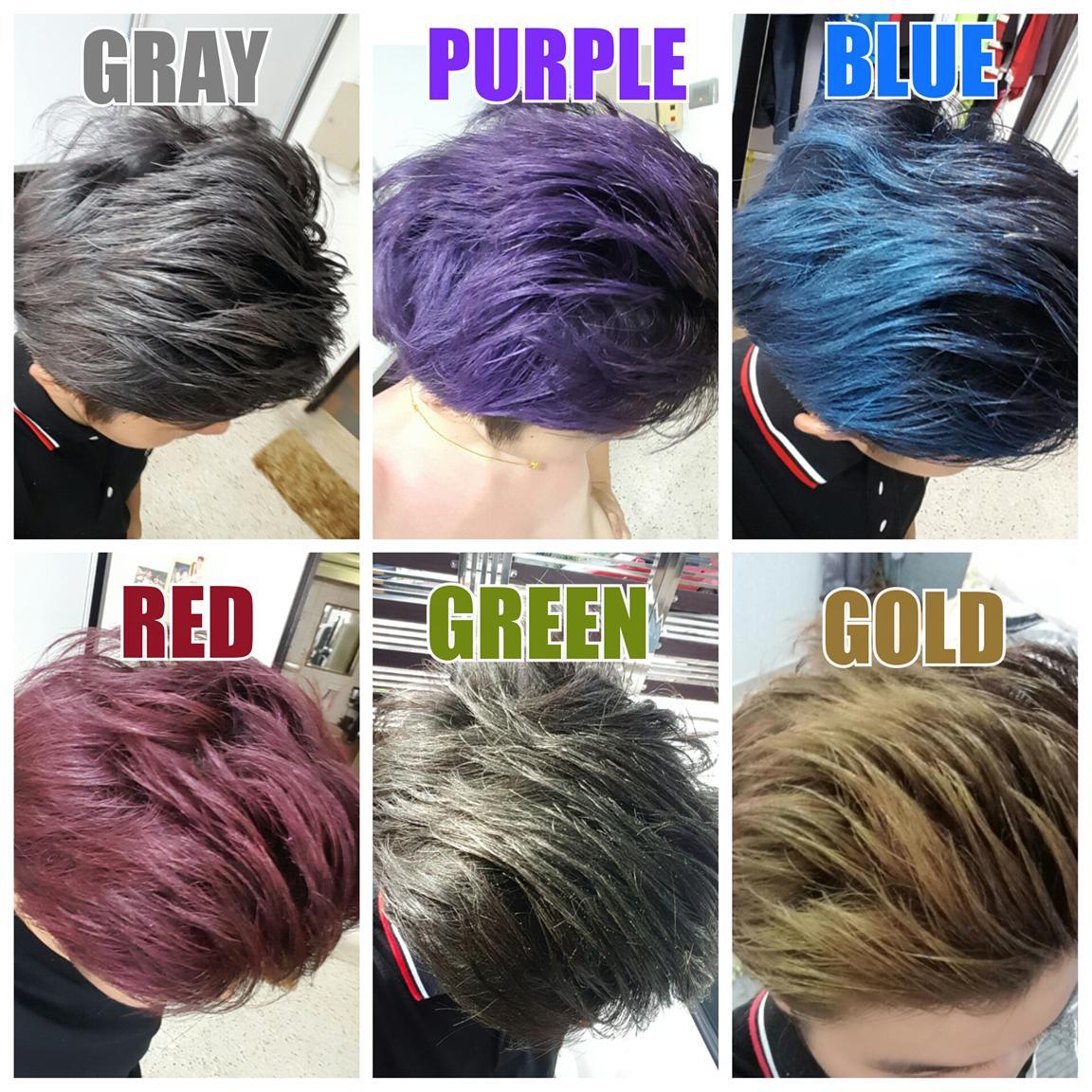 Bojio Xuangu Colour Hair Wax Korea 1 End 4142017 215 Am