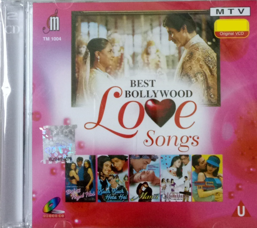 Best Bollywood Love Songs Mohabbatein MTV VCD