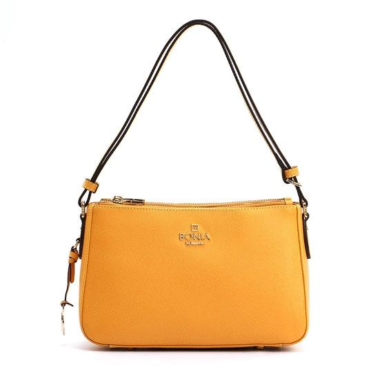 Bonia Chic Shoulder Bags Dark Yellow Original