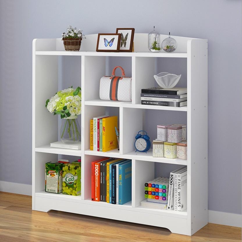 lowest price 7e191 70baf Bookshelf Simple Bookcase Storage Shelf Creative Locker (A1432)