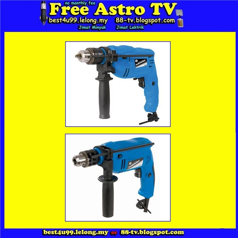 Bor Pengorek Besi Kayu Hammer Drill Steel Wood UK BRAND SILVERLINE hp