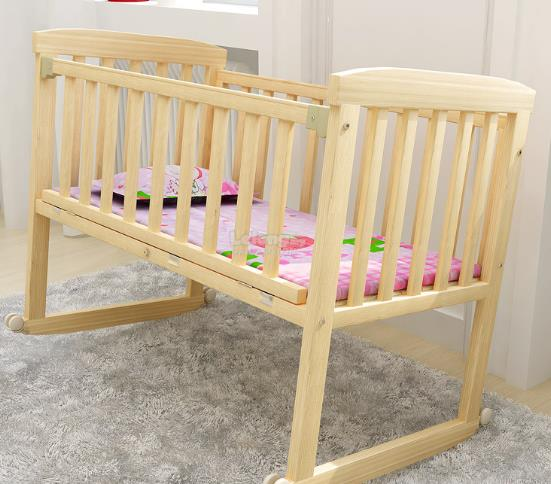 FOR NEW BORN &lt90cm Baby cot katil bayi infant bed mattress cradle de..