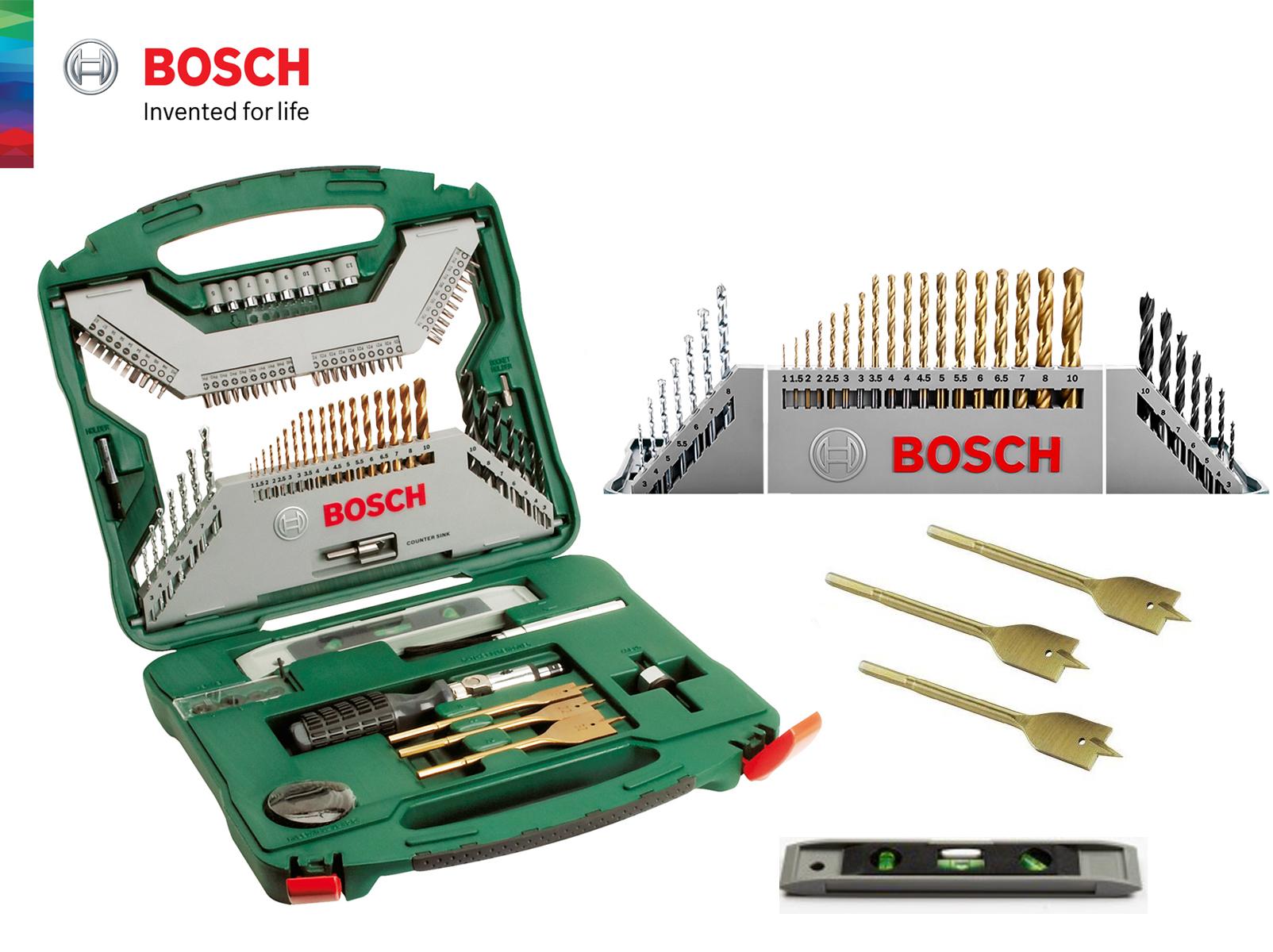 Fabulous BOSCH 100 Piece X-Line Drill & Screw (end 8/19/2020 9:54 AM) VP22