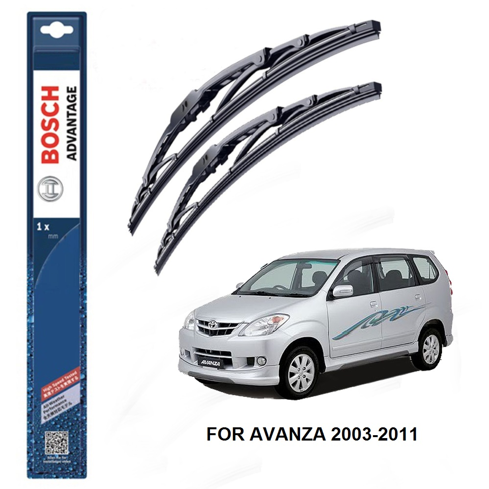 Bosch Advantage Wiper Blades For Toy End 6 30 2020 352 Pm 1 Roof Rack Avanza Toyota 2003 2011