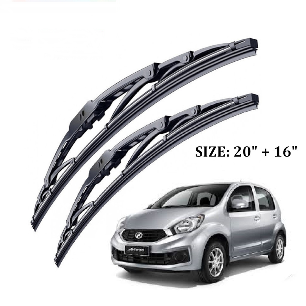 "Bosch Advantage Wiper Set For Myvi/Avanza/Atos (20 ""+16 "")"