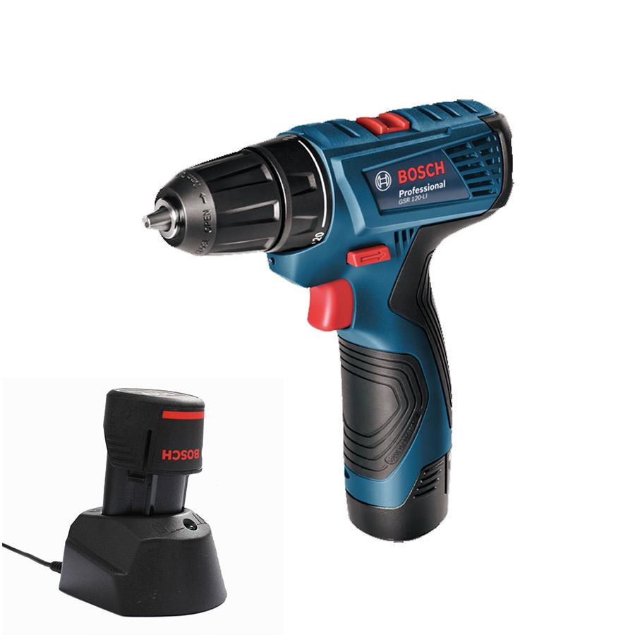 Bosch Battery Cordless Drill Driver GSR 120 LI FREE Accessories Package