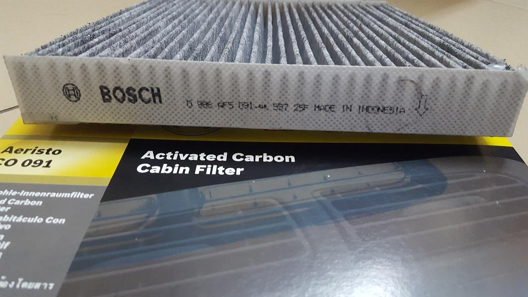 Delicieux BOSCH CARBON CABIN AIR FILTER For HONDA ACCORD, CIVIC, CR V, STREAM