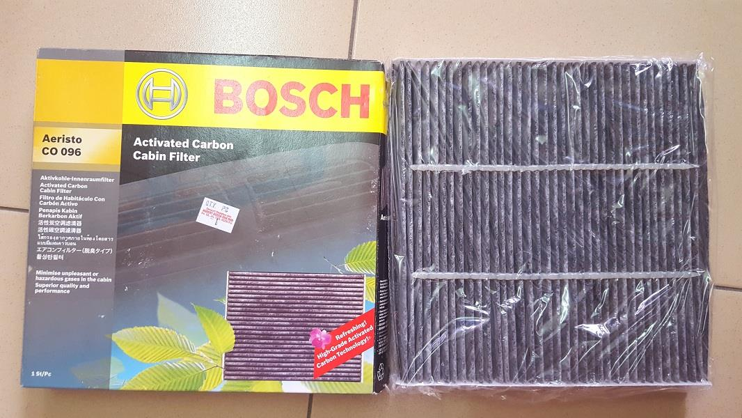 BOSCH CARBON CABIN AIR FILTER For HONDA CITY, JAZZ, CR Z, FREED