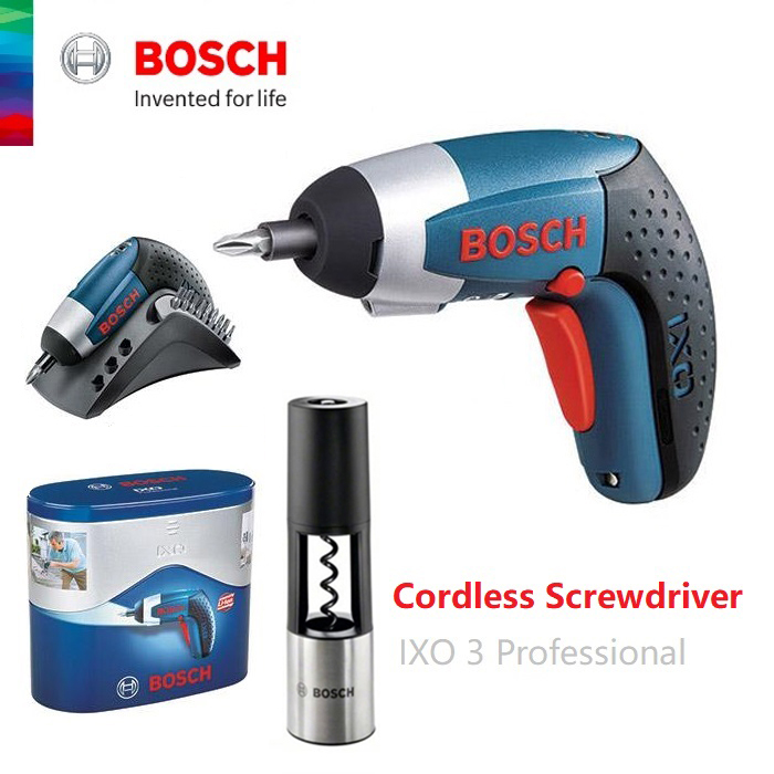 bosch cordless screwdriver 3 6v ixo end 8 19 2020 10 30 am. Black Bedroom Furniture Sets. Home Design Ideas