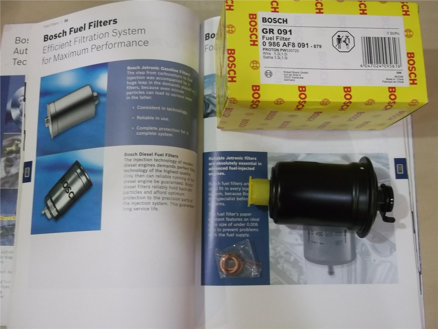 Bosch Fuel Filter For 4g13 4g15 Wira End 9 24 2020 340 Am Engine Filters Satria Injection