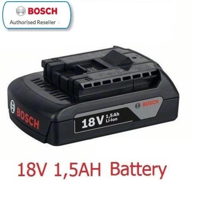 bosch gba 18v 1 5ah li ion battery end 10 9 2018 10 15 pm. Black Bedroom Furniture Sets. Home Design Ideas