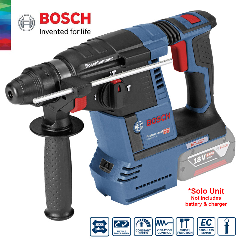 bosch gbh 18v 26 solo cordless rota end 10 10 2020 2 03 pm. Black Bedroom Furniture Sets. Home Design Ideas