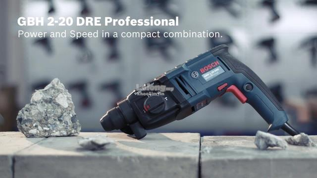 Bosch GBH2-20DRE 3-Modes Rotary Hammer 600W