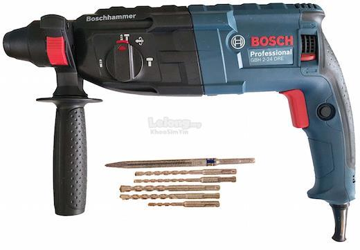 Bosch GBH2-24DRE 3-Modes SDS-Plus Rotary Hammer 790W