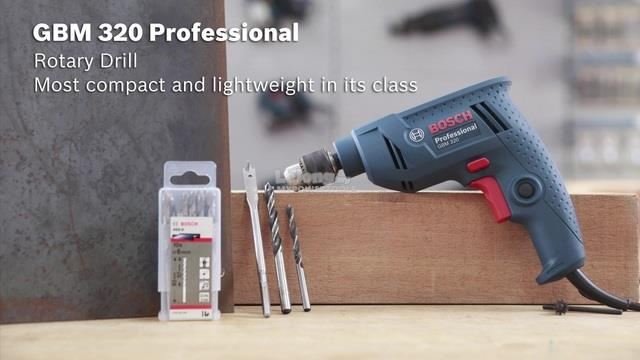 Bosch GBM 320 (1/4') 6.5mm Electric Drill
