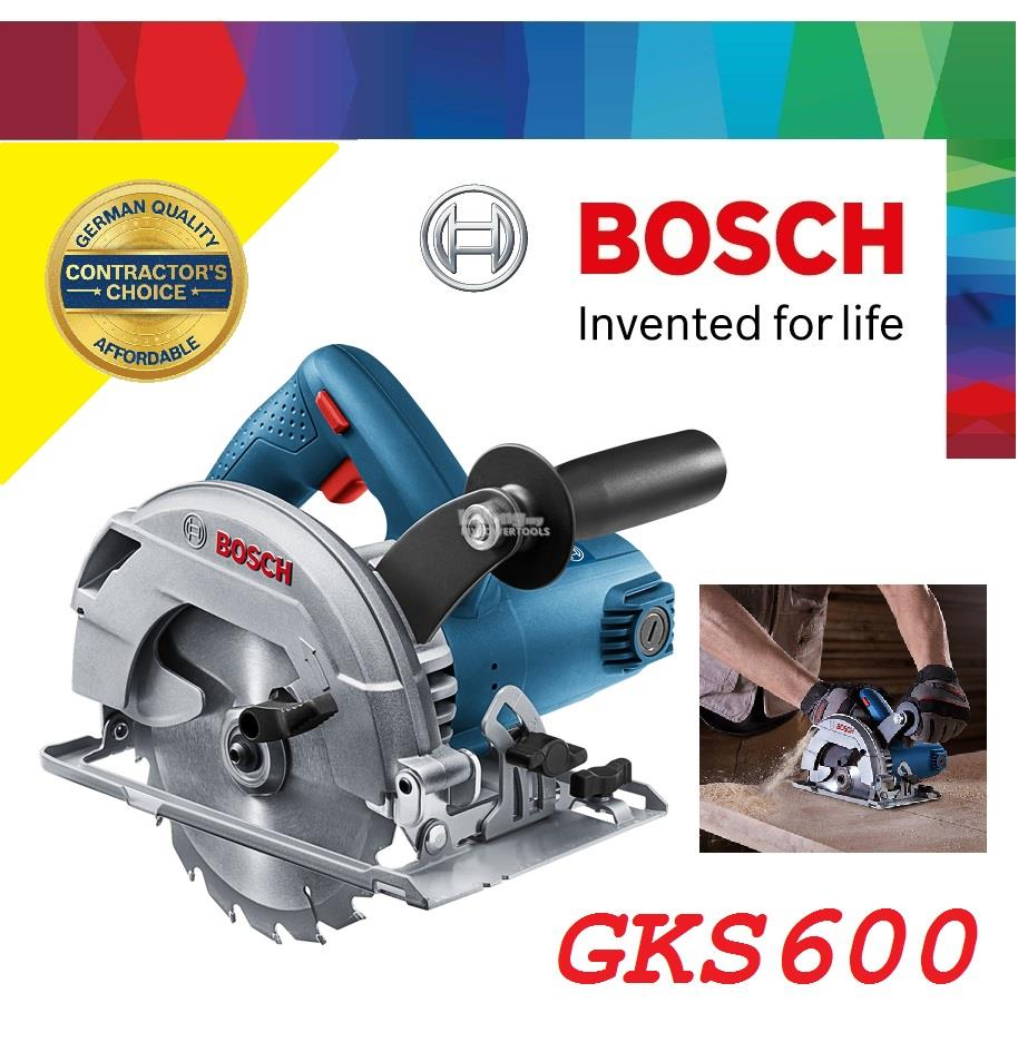 Bosch GKS 1,200W (165mm) 6-1/2' Hand-Held Circular Saw