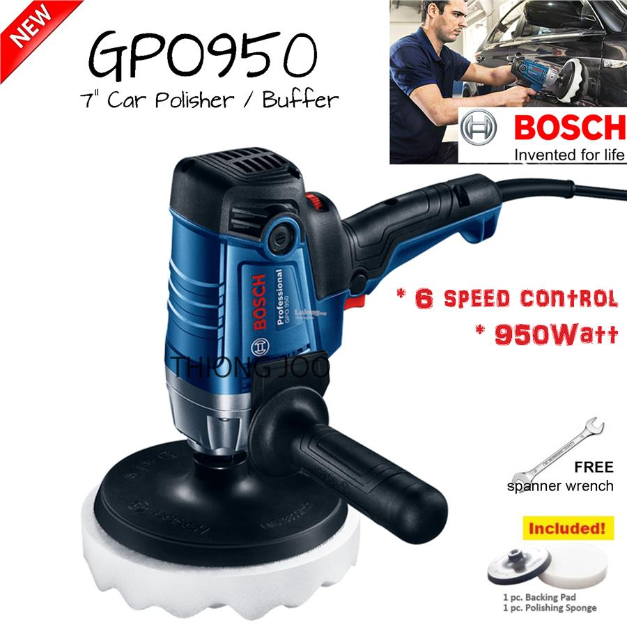 "Bosch GPO950 7"" Polisher / Buffer"