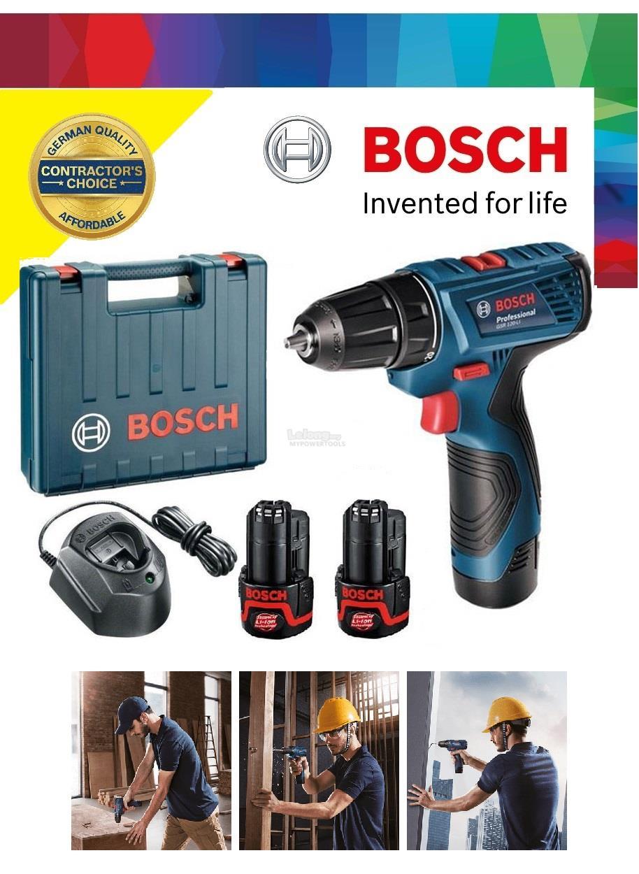 Bosch GSR 12V Compact Cordless Drill Driver