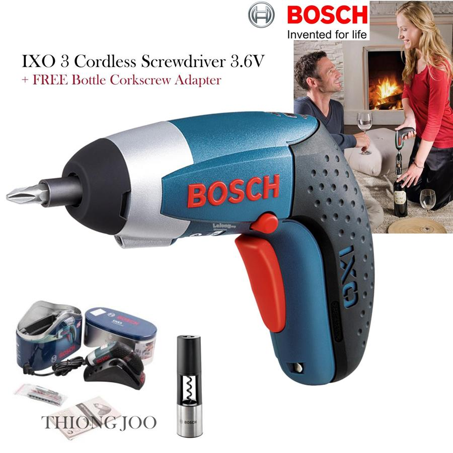 bosch ixo 3 cordless screwdriver 3 end 10 18 2018 11 15 am. Black Bedroom Furniture Sets. Home Design Ideas