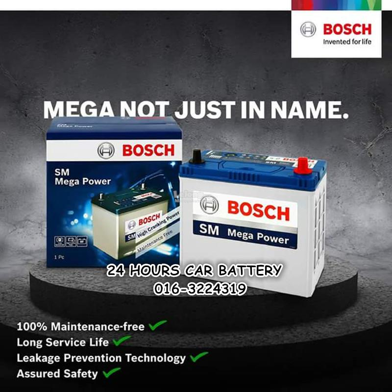 BOSCH SM NS60L / 46B24L MF  AUTOMOTIVE CAR BATTERY