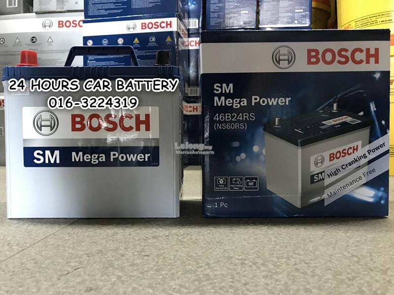 BOSCH SM NS60S / 46B24RS MF  AUTOMOTIVE CAR BATTERY