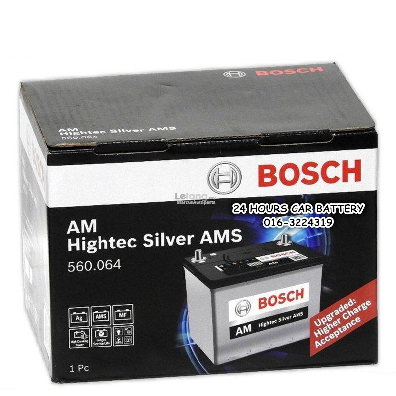 BOSCH AM SMF DIN 60 (560.064) AUTOMOTIVE CAR BATTERY
