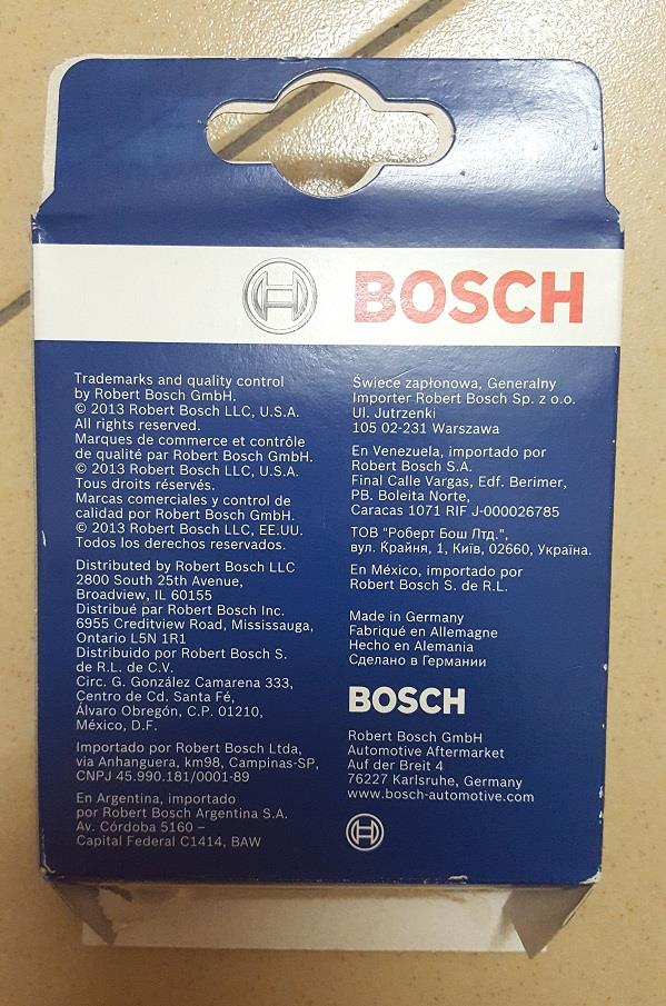 BOSCH SUPER PLUS SPARK PLUG for MYVI (2007-ON) 1.3/ 1.5 / ALZA