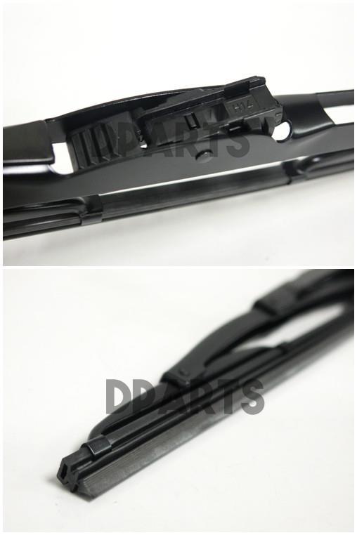 02//12-07//15 Front Flat Bosch Wiper Blade Set for Mercedes Benz B200d 1.8