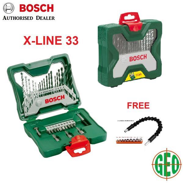 New BOSCH X-LINE 33 piece ACCESSORIES (end 10/18/2019 11:06 AM) QE01