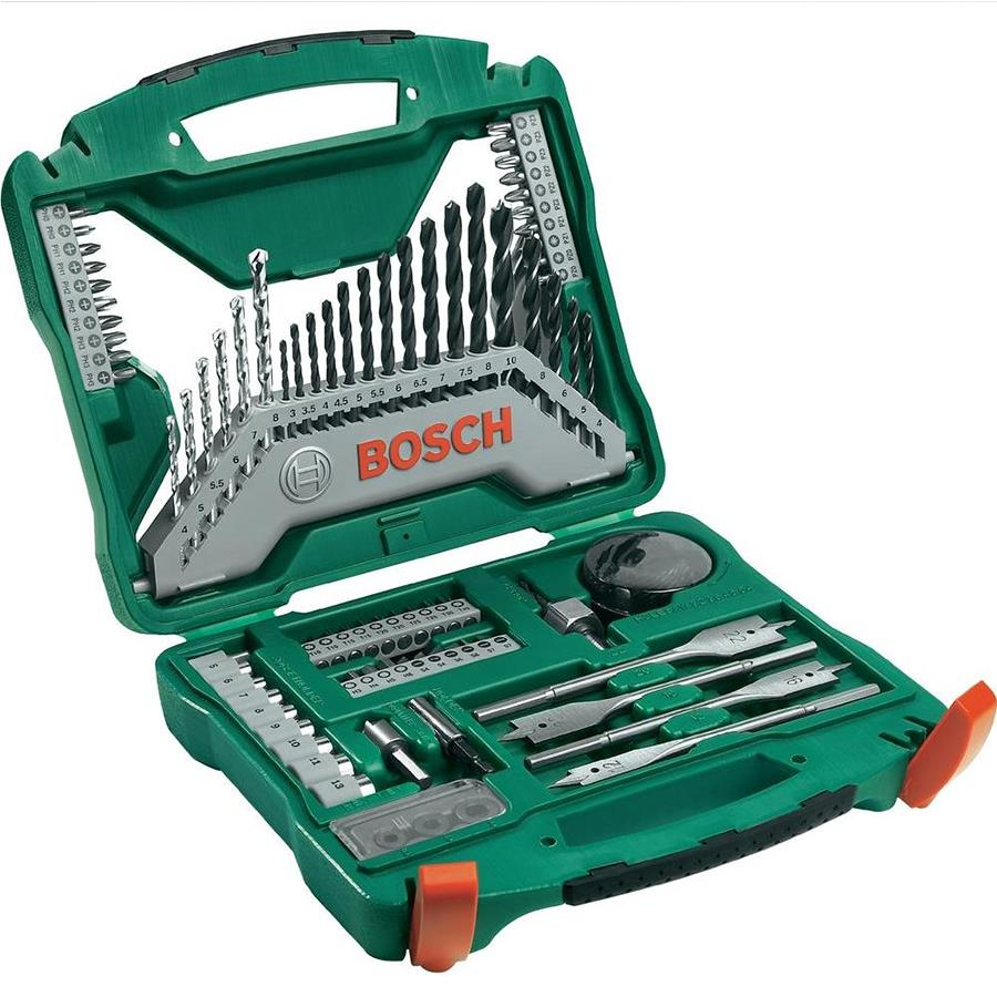 Bosch X line 86pcs Screw Bit and Drill Bit Set with FREE GIFT Accessor