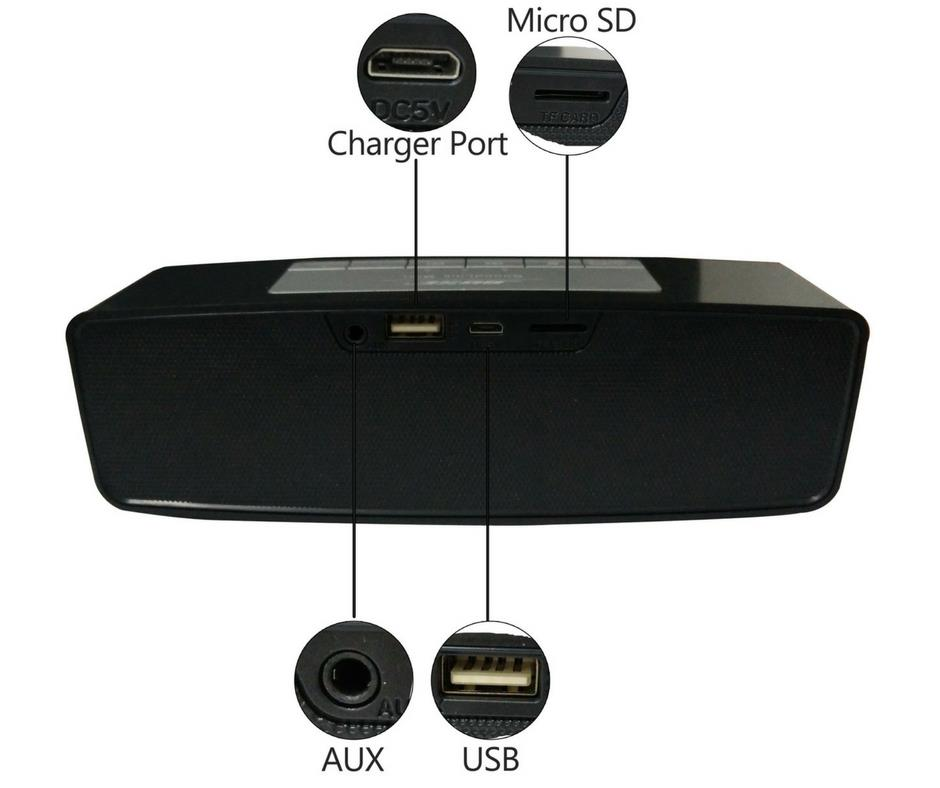 Bose Portable/Mini Bluetooth/TF Card/USB/AUX Speaker/Music Player