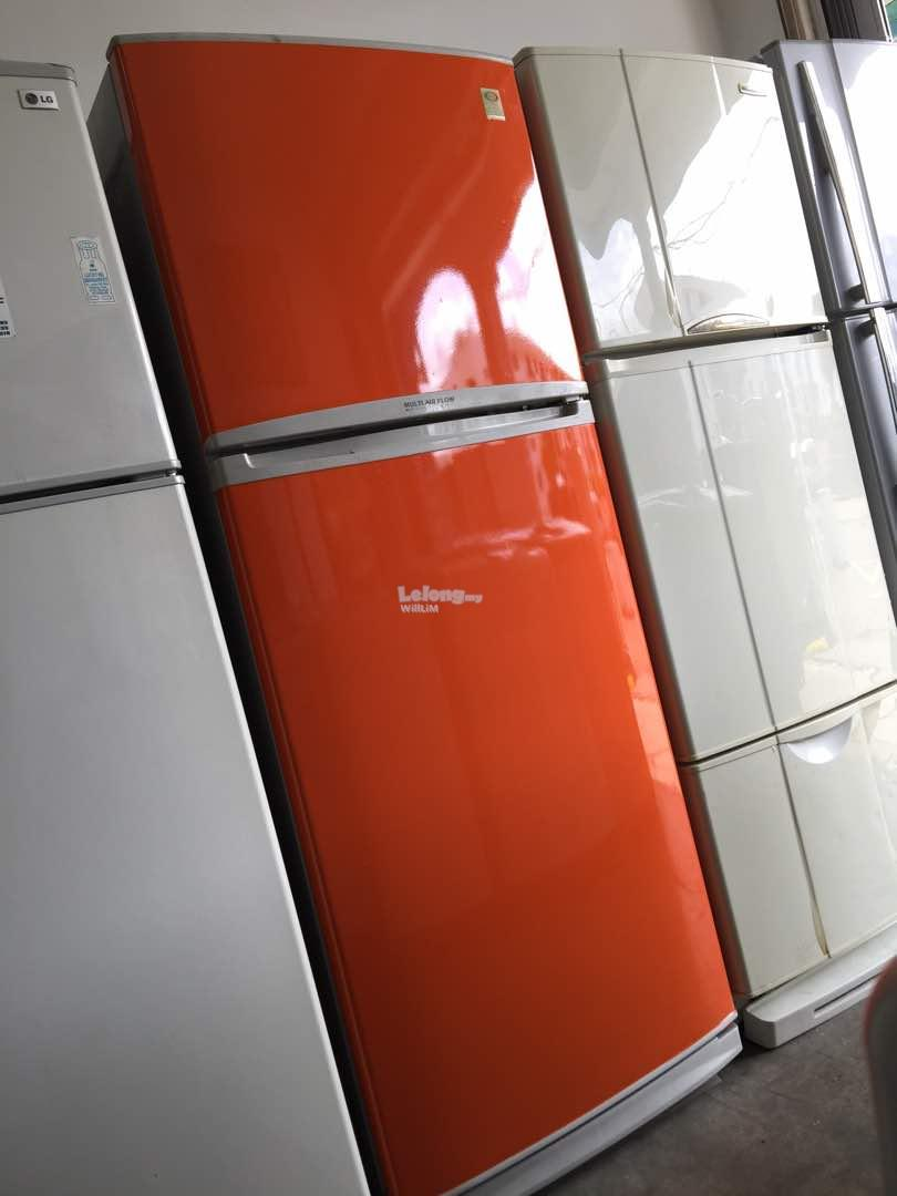 BOSS 2 doors Fridge Peti Sejuk Ais Refrigerator refurbished