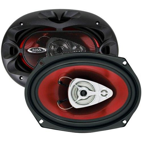 BOSS Audio CH6930 400 Watt, 6 x 9 Inch, Full Range, 3 Way car speakers