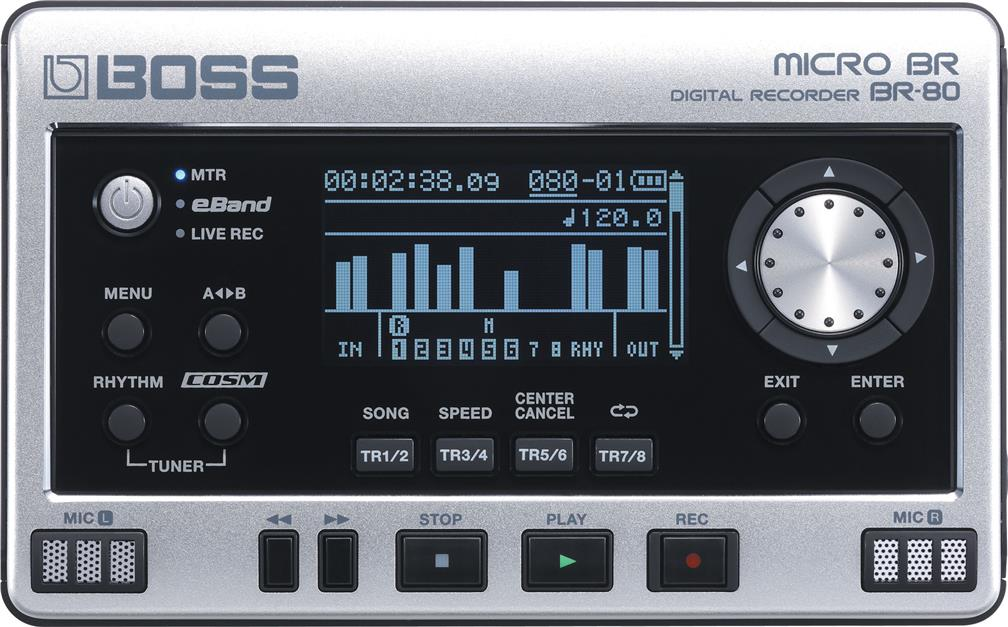 Boss MICRO BR BR-80 Digital Recorder (end 1/5/2019 7:15 PM