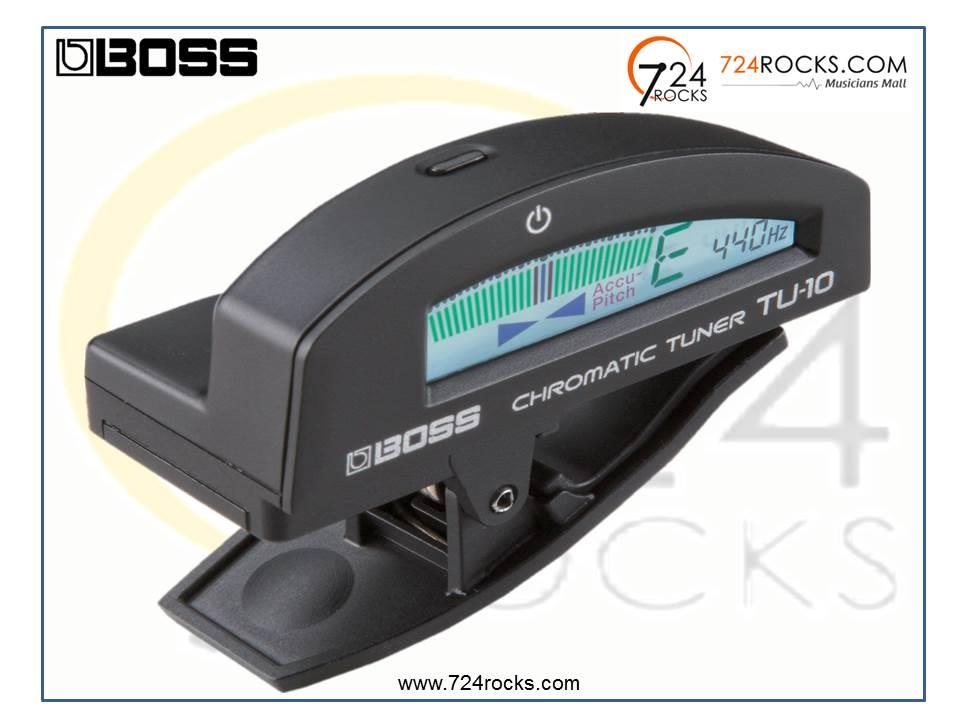 Boss TU-10 Clip- On Chromatic Tuner