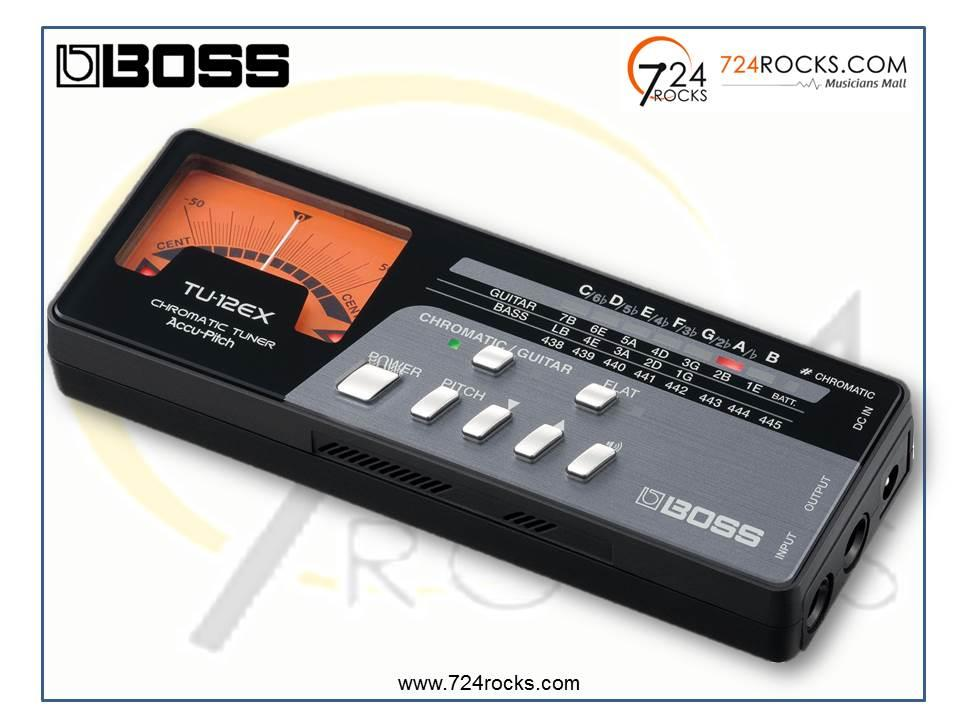 Boss TU- 12EX Chromatic Tuner