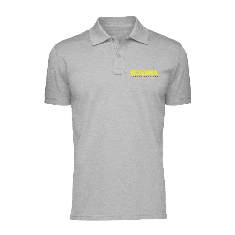 Bossna Limited Fishing Polo T-Shirt Embroidery Logo EDR-006